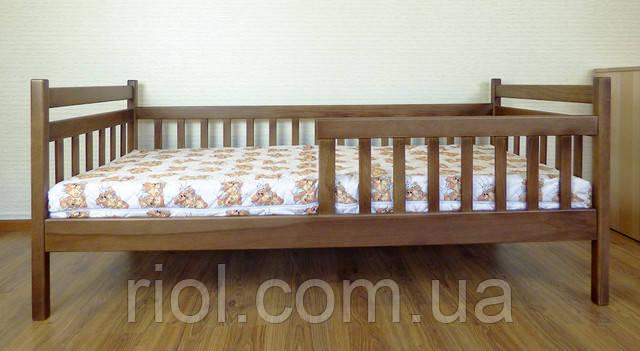 дитяче ліжко з бука