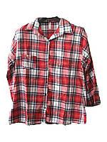 fee5488fff62 Топ продаж Рубашка женская (коттон) клетка красная Турция Розница