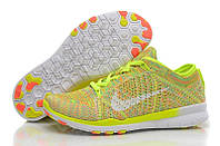 Nike Free TR Fit Flyknit Yellow-Green