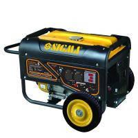 Генератор бензиновый Sigma 5.0/5.5кВт 4-х тактный электрозапуск Pro-S (5710621)
