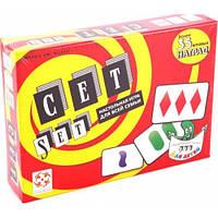Карточная настольная игра СЕТ (SET)
