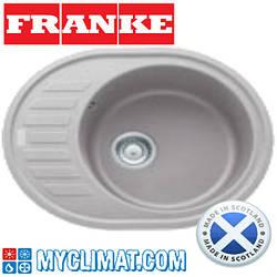 Franke Кухонная мойка FRANKE ROG 611-62 (серебристый)
