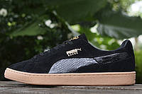 Мужские кроссовки Puma Suede Leather Classic Black