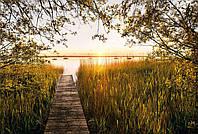 Флизелиновые фотообои 368x248 см. Озеро. Komar XXL4-052