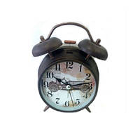 Состаренные часы настольные будильник Ретро автомобиль в стиле Прованс