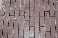 """Вибролитая тротуарная плитка """"Кирпич"""""""
