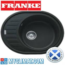 Franke Кухонная мойка FRANKE ROG 611-62 (оникс)