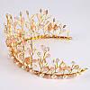 Диадема свадебная тиара для волос Элли корона украшения для волос тиары веночки аксессуары украшения, фото 3