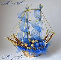 """Корабель з цукерок """"Морські глибини"""", фото 1"""
