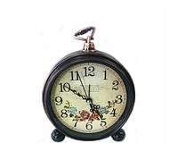 Настольные часы будильник Ретро в стиле Прованс