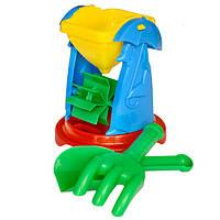 """Детская игрушка для песка """"Мельница-3"""", ТМ Технок, 1356"""