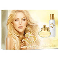 Набор подарочный Shakira S by Shakira set (edt 50ml+deo 150ml) ж примятые оригинал
