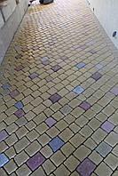 Вибролитая тротуарная плитка под натуральный камень Булыжник 40мм