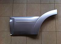Накладка на задние двери Mitsubishi Pajero Wagon 4