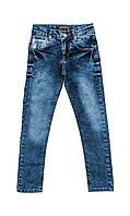 Детские джинсы с потертостями