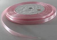 Лента атласная. Цвет - бледно-розовый. Ширина - 0,7см, длина - 23 м