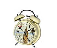 """Кварцевые часы будильник """"Биг-Бен""""  в стиле Прованс"""