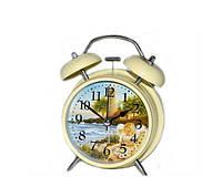 Романтические часы с будильником в стиле Прованс