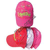 """Кепка детская для девочек """"Play-Doh"""" горох 52 р. (хлопок) Вьетнам Оптом"""