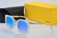 Солнцезащитные очки Fendi голубые