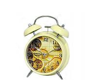 """Стильные часы будильник """"Карта мира"""" в стиле Прованс"""