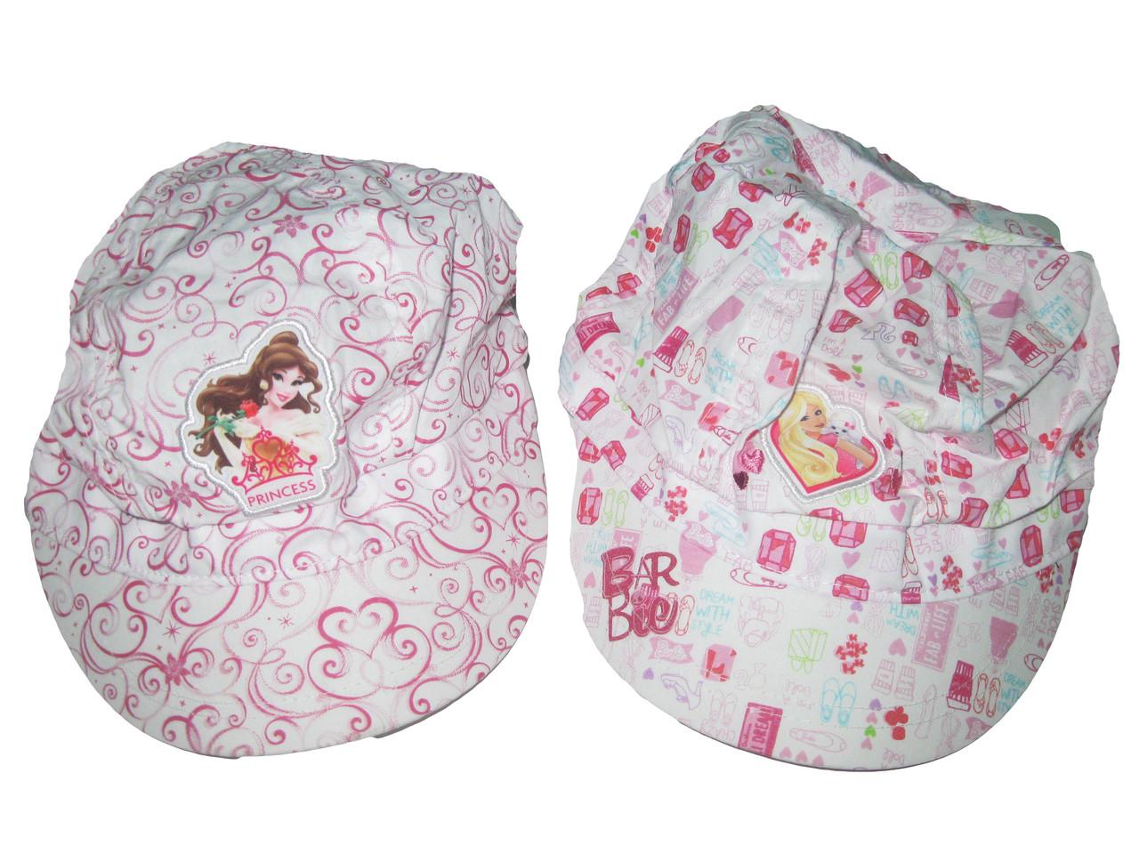 Кепка-панамка для девочки Barbie (Дисней), размеры 54 см (2 шт), арт. 770-103