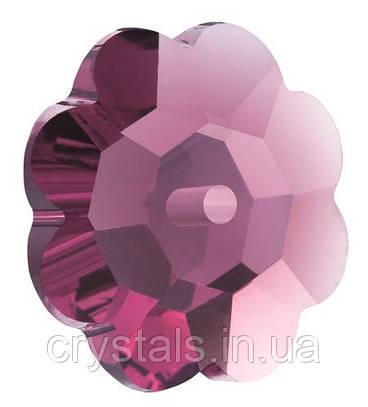 Пришивные цветочки Preciosa (Чехия) Amethyst 6 мм