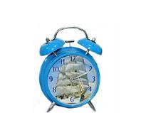 Часы будильник Регата в стиле Прованс