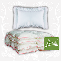 """Комплект в кроватку """"Зимние сны"""", одеяло+подушка, белый, Homefort, 2050024"""