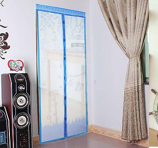 Анти москитная сетка на магнитах для дверей 100/210