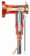 Экранированная Т-образная система на напряжение 10, 20 и 35 кВ для ячеек РУ с газовой изоляцией с бушингами