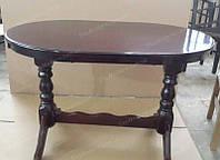 Стол обеденный деревянный КЛАССИК+ для гостиной дома, кафе и ресторана