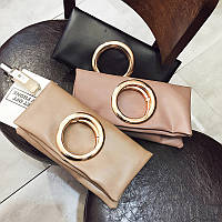Сумка-конверт с кольцом