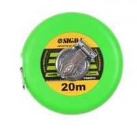 Рулетка тряпичная Sigma 20м*13мм (стекловолокно) (3832201)
