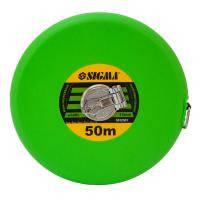 Рулетка тряпичная Sigma 50м*13мм (стекловолокно) (3832501)