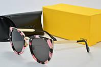 Солнцезащитные очки Fendi цветок