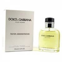 ТЕСТЕР Dolce and Gabbana Pour Homme 125 ml Мужская парфюмерия