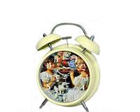 Часы будильник подарок для девочки в стиле Прованс