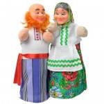 Набор кукол-рукавиц ДЕД И БАБКА (2 персонажа), B071/072