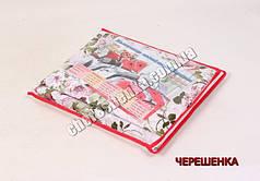 Упаковка для постельного белья (красная) - двуспальная