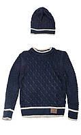 Комплект детский (свитер+шапка)