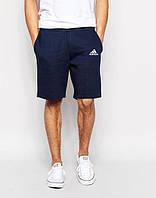 Шорты мужские Adidas Адидас темно-синие (маленький принт)