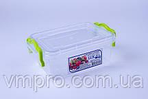Контейнер пищевой LUX №01, 0.5 L,(162×112×65),емкость,судок для продуктов