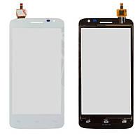 Сенсорный экран (touchscreen) для Prestigio MultiPhone 3501 Duo, белый, оригинал