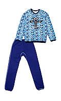 Пижама с начесом для мальчика