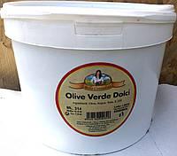 Оливки с косточкой бочковые Bella Contadino