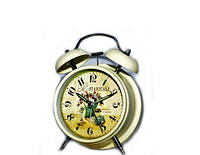 Часы будильник классические Цветы в стиле Прованс