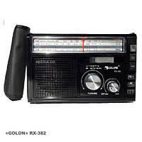 """Радиоприемник c USB/SD и аккумулятором. """"GOLON"""" RX-031"""