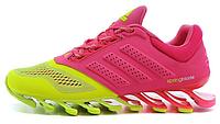 Женские беговые кроссовки Adidas Springblade, адидас спрингблейд, розовые