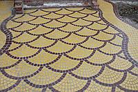 """Вибролитая тротуарная плитка под натуральный камень """"Римский камень"""" 25мм"""